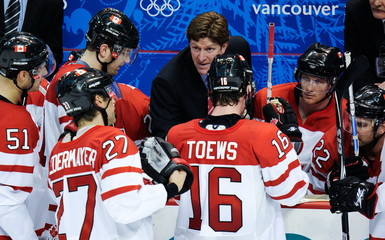 CANADA-VANCOUVER-WINTER OLYMPICS-MEN'S ICE HOCKEY-GOLD MEDAL GAME