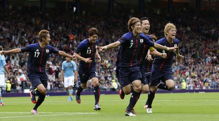 Spain v Japan London 2012 Men's Olympic Football Tournament - Group D