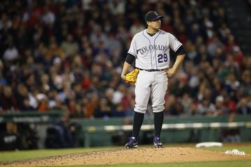 MLB: Colorado Rockies at Boston Red Sox