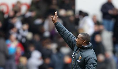 Swansea City v Wolverhampton Wanderers Barclays Premier League