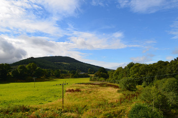 A Perfect Day in  Inverness in the Scottish Highlands