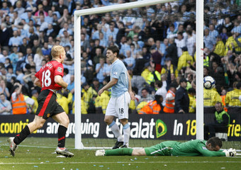 Manchester City v Manchester United Barclays Premier League