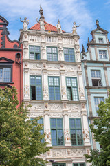Obraz Speymannhaus (Złota Kamieniczka) Gdańsk (Danzig) pomorskie (Pommern) Polska (Polen) - fototapety do salonu
