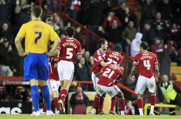 Bristol City v Southampton npower Football League Championship