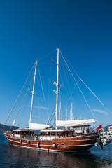 Yachting marina of Marmaris in Turkey