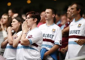 West Ham United v Blackburn Rovers Barclays Premier League