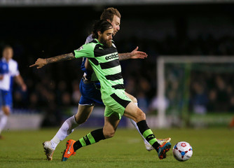 Forest Green Rovers v Bristol Rovers - Vanarama Conference Play-Off Semi Final First Leg