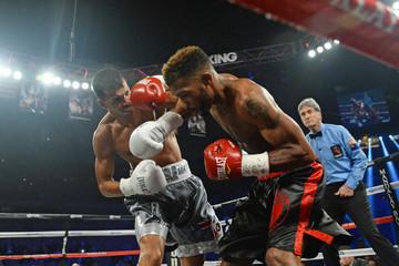 Boxing: Machado vs Luckey