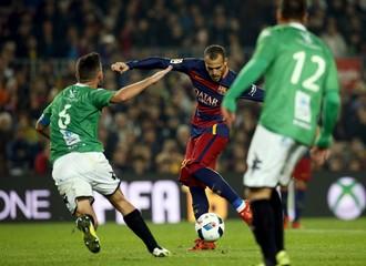 Football Soccer - Barcelona v Villanovense - Spanish King's Cup