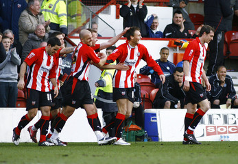 Brentford v Wycombe Wanderers Coca-Cola Football League Two