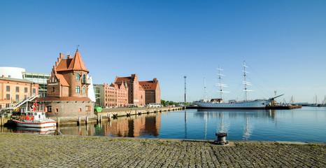 Nordhafen in Stralsund
