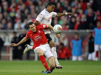 Nottingham Forest v Swansea City npower Football League Championship Play-Off Semi Final First Leg