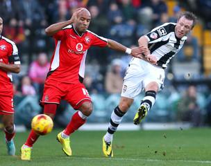 Notts County v Walsall - Sky Bet Football League One