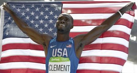 Athletics - Men's 400m Hurdles Final