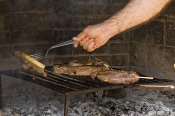 Grill Beef Steak Barbeque