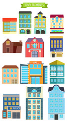 Town elements