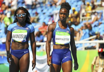 Athletics - Women's 4 x 100m Relay Round 1