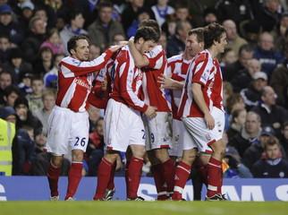 Chelsea v Stoke City Barclays Premier League