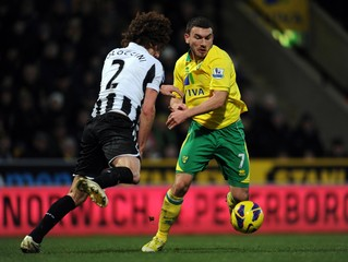 Norwich City v Newcastle United - Barclays Premier League