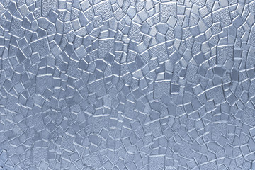Glass geometric pattern texture as background
