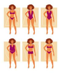 Types of female figures