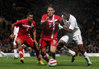 England v Serbia 2013 UEFA European Under 21 Championship Qualifying Play-Off First Leg