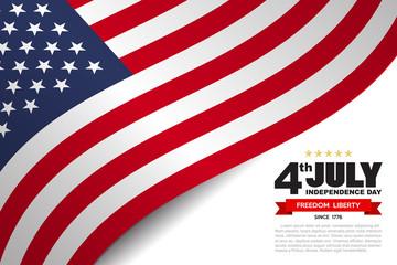 USA flag pattern background