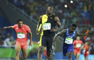 Athletics - Men's 4 x 100m Relay Final