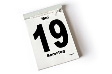 Bildergebnis für abreisskalender 19. mai