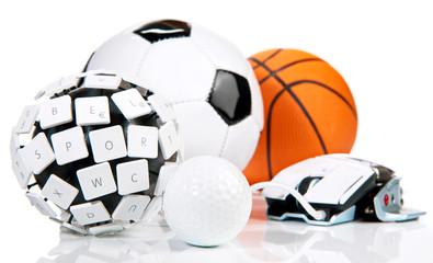 eSport - golf, soccer, basketball,