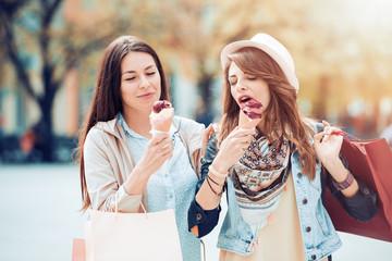 Enjoying Shopping