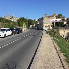 Entré de la ville de Saint Emilion