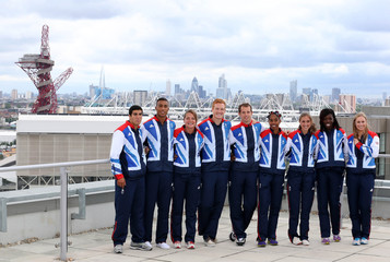 British Olympic Association announce the Athletics competitors selected to Team GB for the London 2012 Olympic Games