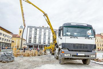 Concrete transport