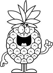 Cartoon Pineapple Idea