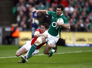 Ireland v Wales RBS Six Nations Championship 2010