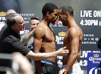 Andre Dirrell & James DeGale Weigh-In