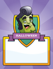 Cartoon Monster Halloween Graphic