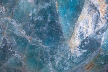 Minerał błękitny kryształ