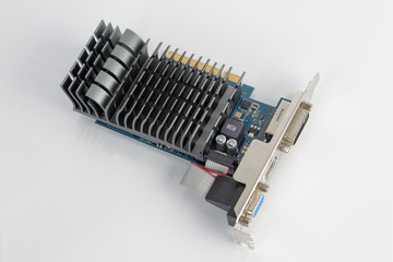 Computer Graphic Card with passive cooling