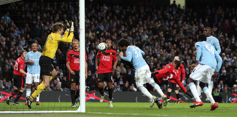 Manchester City v Manchester United Carling Cup Semi Final First Leg