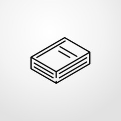 school book icon illustration isolated vector sign symbol