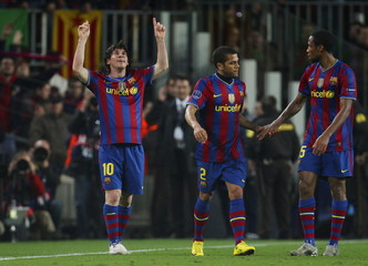 FC Barcelona v Arsenal UEFA Champions League Quarter Final Second Leg