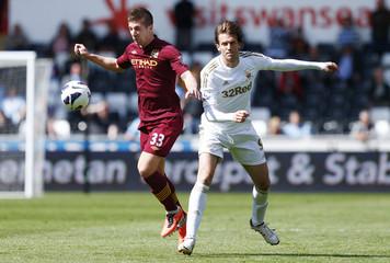 Swansea City v Manchester City - Barclays Premier League