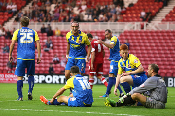 Middlesbrough v Accrington Stanley - Capital One Cup First Round