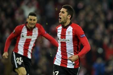 Football - Athletic Bilbao v Olympique Marseille - UEFA Europa League Group Stage - Last 32 second leg - San Mames stadium.
