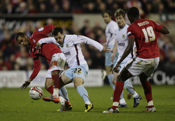 Nottingham Forest v Burnley npower Football League One