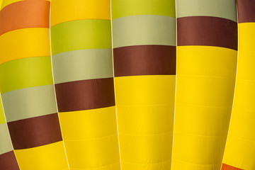 Close-up Hot air balloons