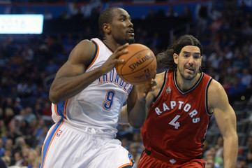 NBA: Toronto Raptors at Oklahoma City Thunder