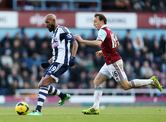 West Ham United v West Bromwich Albion - Barclays Premier League